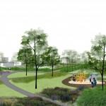 ontwerp park renders groenprojecten riethoven